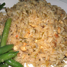 Jasmine Rice With Caramelized Green Onions