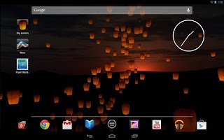 Screenshot of Sky Lantern