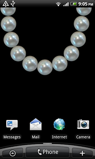 Pearls Live Wallpaper