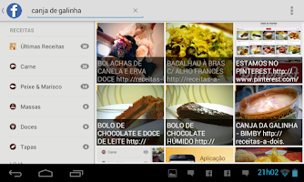 Screenshot of Receitas a Dois