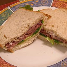 Roast Beef and Rocket Sandwich