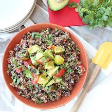 market s chipotle quinoa food52 avocado cilantro red quinoa vegetable ...
