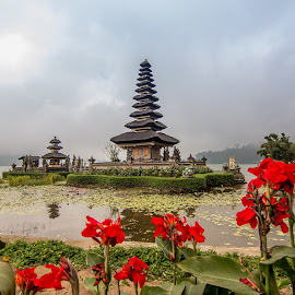 The mystery of Bedegul Bali by Teoh Ying - Buildings & Architecture Statues & Monuments ( temple, history, bali, bedegul, visit, lake, landscape, photography )