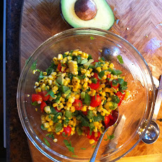 Summer Grilled Corn Salad