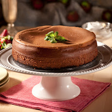 New York Style Chocolate Cheesecake