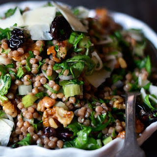 Whole Wheat Couscous with Cherries & Arugula