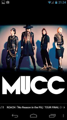 MUCC MUCC official App