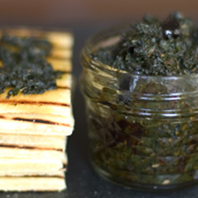 Herb Jam with Olives and Lemon