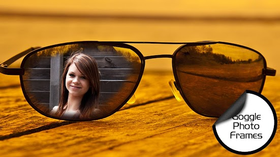 My Photo in Goggles Frames - screenshot