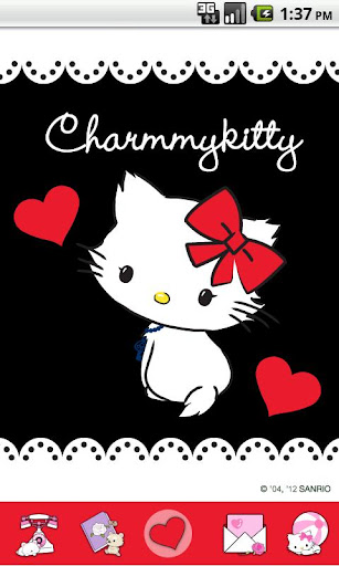Charmmy Kitty Black Love Theme