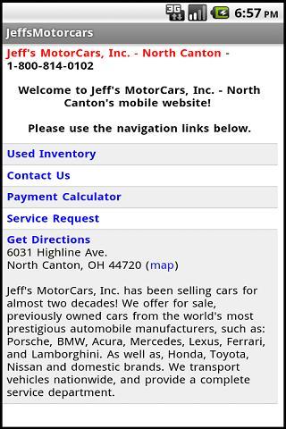 Jeff's Motor Cars