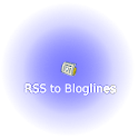 RSS to Bloglines icon