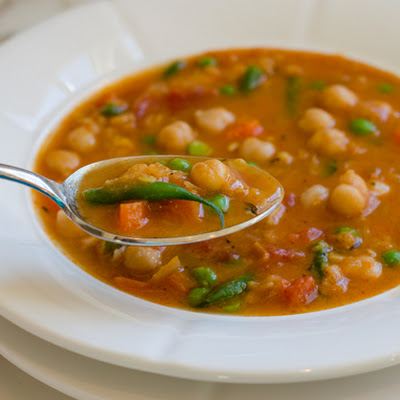 Smoky Chickpea, Red Lentil & Vegetable Soup