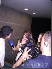 Rede TV entrevistando Felipe