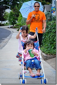 stroller ride