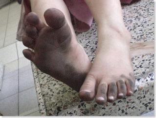 23 barefoot