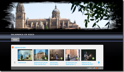 Salamanca en vídeo