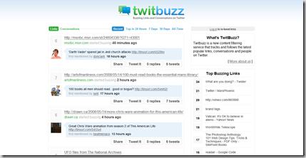 TwitBuzz - Twitter's hottest links