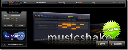 musicshake BETA