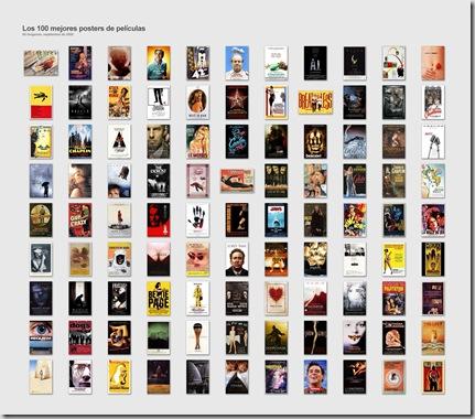100 mejores posters de cine