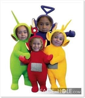 Iria, Noelia, Inés e Alba
