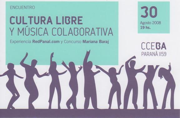 Experiencia RedPanal.com en el Centro Cultural de España en Buenos Aires