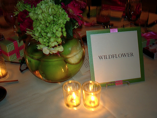 Wildflower Table