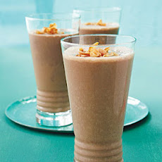 Almond, Chocolate, and Toasted Coconut Shake