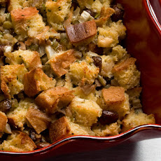Mushroom and Fennel Bread Pudding Recipe