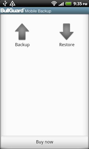 BullGuard Mobile Backup