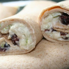 Raisin-Apple Tortilla Roll-Ups