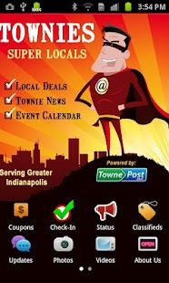 Townies Super Local App - Indy - screenshot
