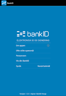 bankid windows phone