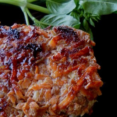 Sweet Potato and Apple Breakfast Patties