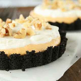 Pumpkin Cream Oreo Tarts