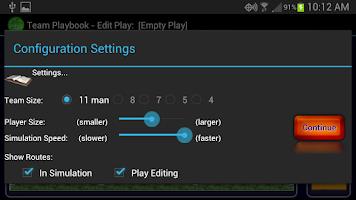 Screenshot of Football Team Playbook