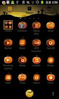 Screenshot of Halloween Moon Night GO Locker