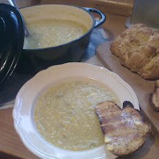 Sweetcorn Chowder and crusty loaf