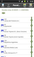 Screenshot of Buses de Córdoba