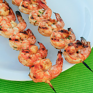 Grilled Shrimp Skewers