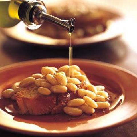 Bruschetta with White Beans and Olive Oil