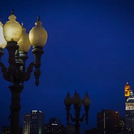 by Julie Dabour - City,  Street & Park  Skylines