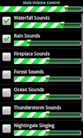 Screenshot of Relaxing Sounds