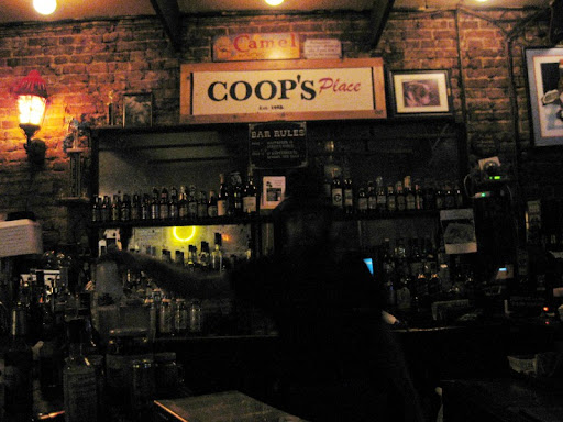 Bartender at Coop's