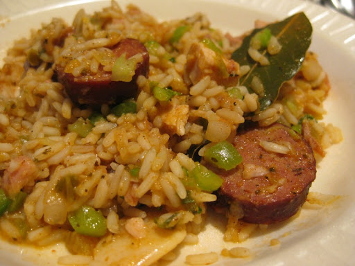Jambalaya at the New Orleans School of Cooking