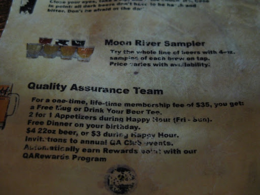 Quality Assurance Team at Moon River Brewing