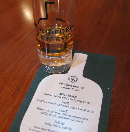 Tasting at Woodford Reserve Distillery