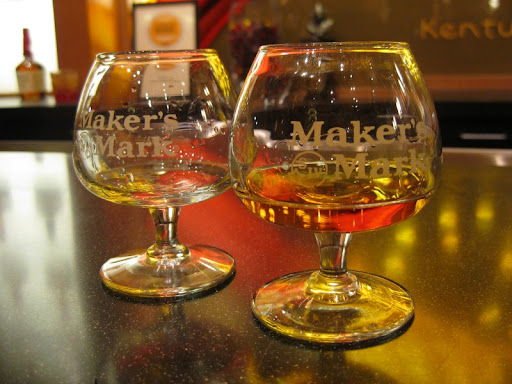 Tasting at Maker's Mark Distillery