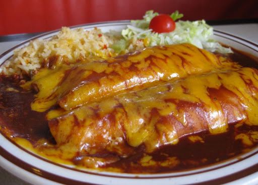 Chicken Enchiladas at Frontier