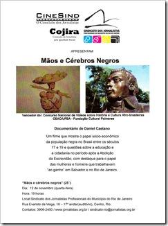 CineSind_Cartaz_Maos_e_Cerebros_Negros_nov_2008